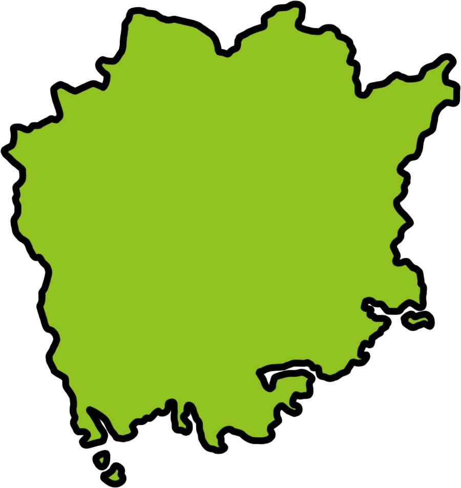 岡山・地図
