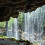 裏見の滝で有名な岩井滝まつり開催